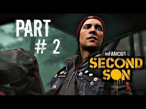 Let's Play Infamous: Second Son - Part 2 (Queen Anne / Mobile Command) Gameplay Walkthrough