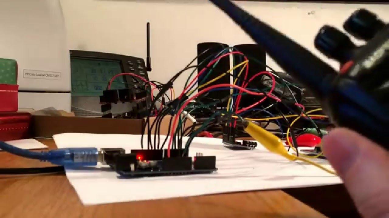 Arduino Dtmf Decoder Relay Control Youtube Wiring