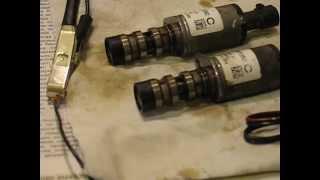 Магнитный клапан двигатель Z18XER (Опель, Шевроле...) звук дизеления(Из двигателя Z18XER (Шевроле Круз) извлечены для проверки оба клапана. Причина в звуке