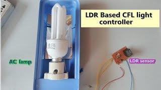 LDR - Daylight sensor based AC Light control || part - B