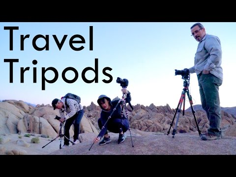 Travel Tripods Review: Manfrotto BeFree vs 3 Legged Thing Leo