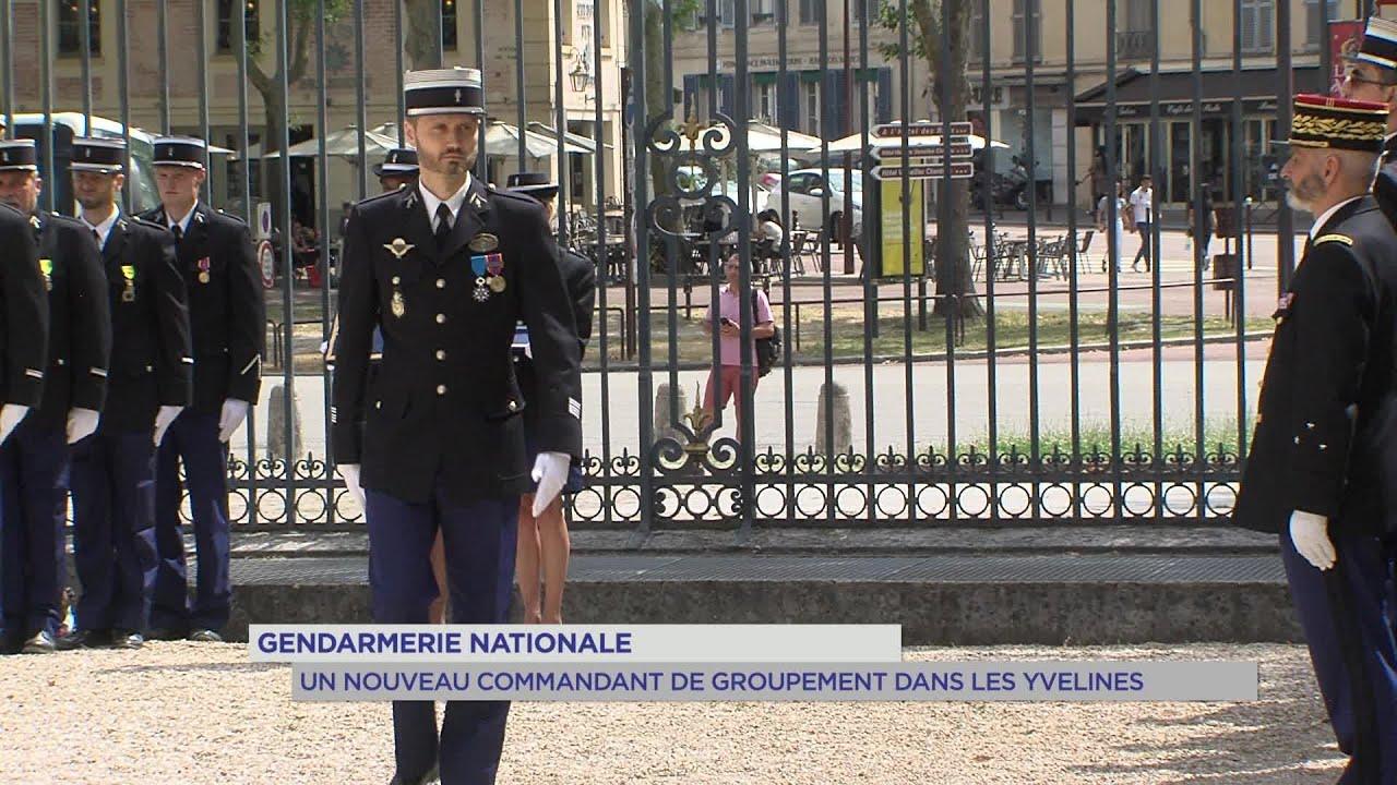 Yvelines | Gendarmerie nationale : Un nouveau commandant de groupement dans les Yvelines