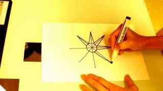 8 MANERAS DE DIBUJAR UNA ESTRELLA. DRAW STARS