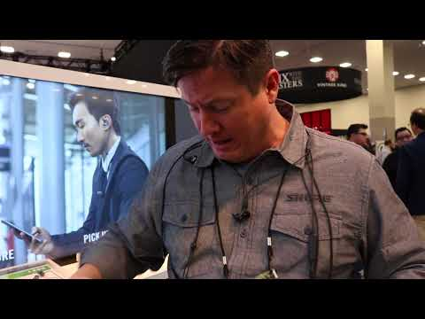 Shure's Sean Sullivan at Winter NAMM 2018