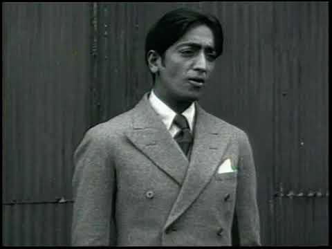 Krishnamurti – Short interview in New York City, 1928