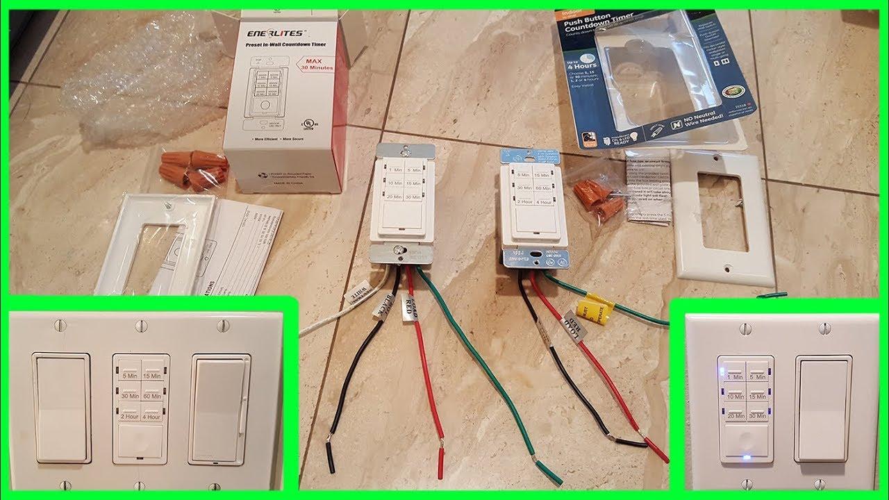 how to replace bathroom fan switch to a digital timer tajmer dlya vytyazhki