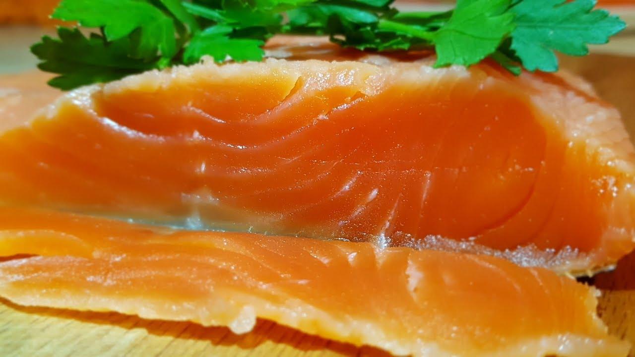Форель слабосолёная, цыганка готовит. Как засолить Красную рыбу. Gipsy cuisine.
