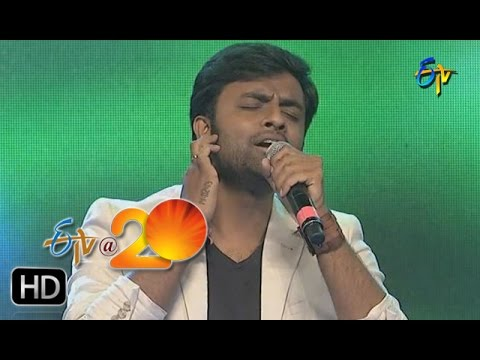 Hemachandra Performance - Sri Thumbura Naaradha Song in Kadapa ETV @ 20 Celebrations