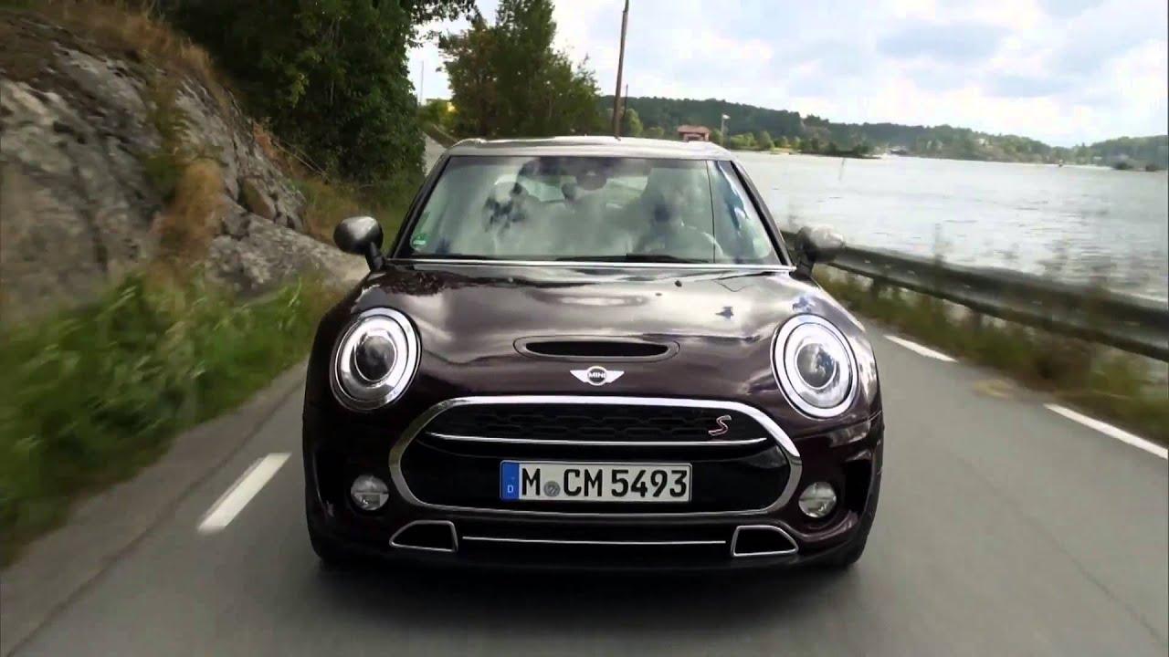 Der Neue Mini Cooper S Clubman In Burgund Fahrbericht Automototv