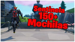SHOWING THE SENTINEL SKIN & 150 + BACKPACKS | FORTNITE