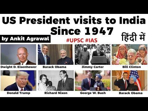 Download  Donald Trump India Visit, Brief history of all US presidents' trips to India, Current Affairs 2020 Gratis, download lagu terbaru