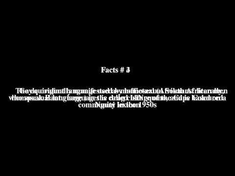 Gayle language Top # 7 Facts