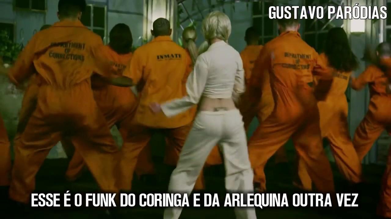 Esquadrão Suicida - Funk do Coringa e Arlequina 4 - O Grave Bater (Paródia/Redublagem)