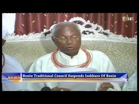 Benin Traditional Council Suspends Isekhure Of Benin, Chief Nosakhare Isekhure