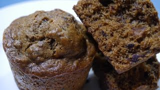 Soft & Moist Date Cupcakes/ muffins