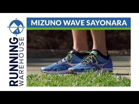 mizuno wave sayonara review