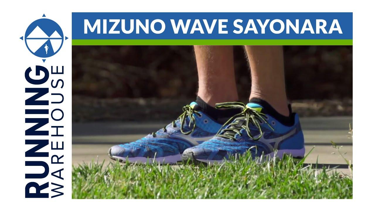 mizuno wave sayonara 1 vs 2