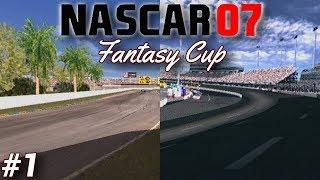 DAYTONA ROAD COURSE & RICHMOND DAY | NASCAR 07 Fantasy Cup #1