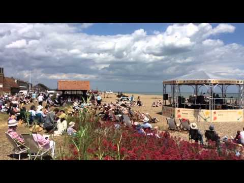 Aldeburgh Festival Bandstand on the Beach