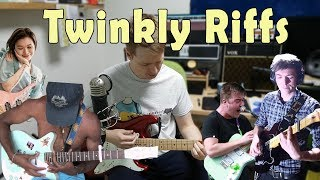 How to Write Twinkly Sounding Riffs in Different Tunings: Tiny Moving Parts, TTNG, Yvette Young, etc