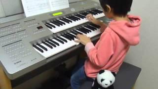 練習中~^^ 7歳4ヶ月.