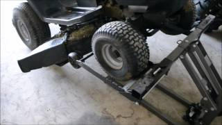 RE:/ FOLLOW UP / TOOL REVIEW :Harbor Freight / Pittsburgh Riding Mower / Atv Lift Jack 60395 / 61523