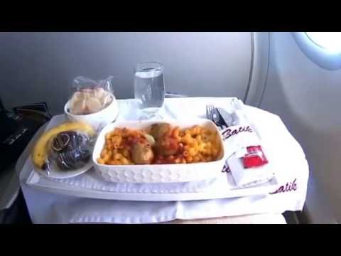 Travelling On Business | Batik Air Business Class (Manado-Jakarta)