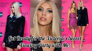 Get Ready for the Victoria's Secret Viewing Party with Me! | Devon Windsor