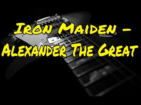 Iron Maiden  Alexander The Great  Rocksmith