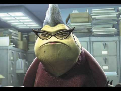 Roz  Monsters Inc  YouTube