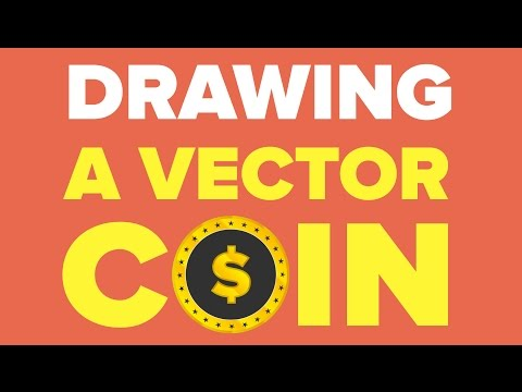 Drawing A Vector Coin In Illustrator