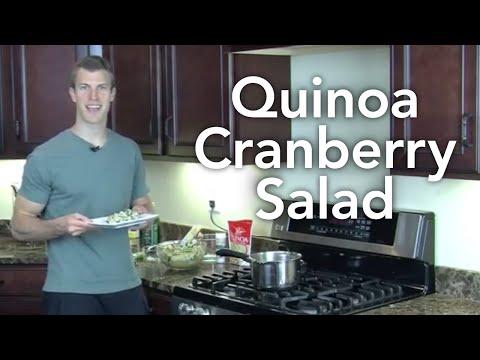 Quinoa Cranberry Salad - Transform Your Kitchen