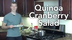 Quinoa Cranberry Salad - Transform Your Kitchen