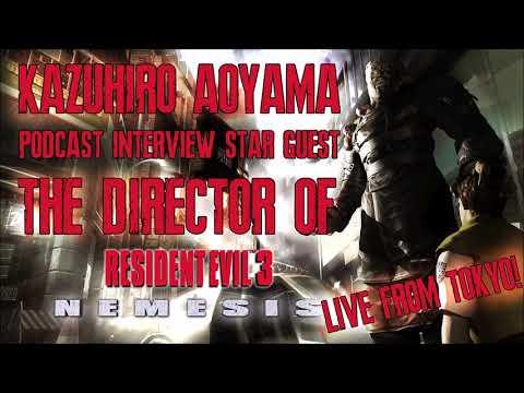 Resident Evil 3 Director Kazuhiro Aoyama