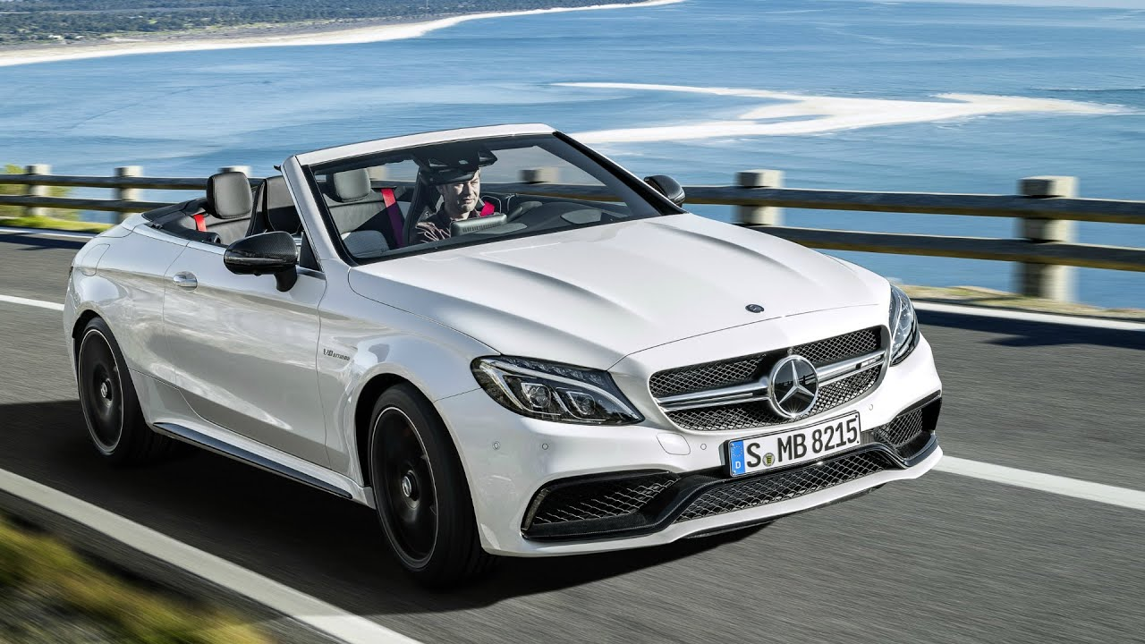 2016 mercedes c63 s amg cabriolet drive youtube. Black Bedroom Furniture Sets. Home Design Ideas