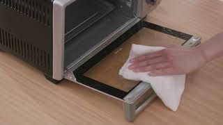 전자레인지 오븐 닦는법