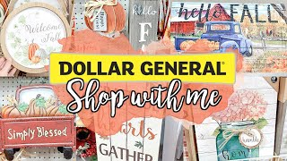 FALL DECOR SHOP WITH ME // DOLLAR GENERAL FALL AND FARMHOUSE HOME DECOR 2019