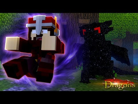 DARKLIGHT THE NIGHTFURY'S SECRET POWER! - Minecraft Dragons
