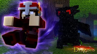 DARKLIGHT THE NIGHTFURY'S SECRET POWER! - Minecraft Dragons