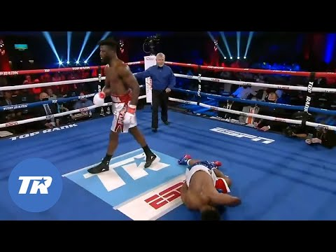 Efe Ajaba Shuts Brian Howard's Lights Out with Devastating Knockout | FIGHT HIGHLIGHTS