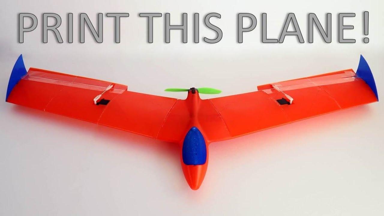 Print THIS Plane! (FREE  stl Files)