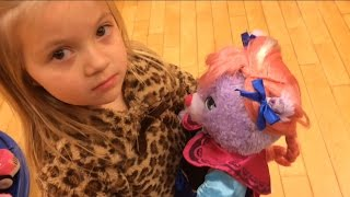 Getting FROZEN and MLP BUILD A BEAR for Christmas from SISTER ABIGAIL!