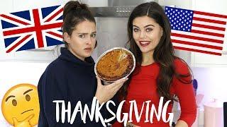 BRITISH GIRLS TRY THANKSGIVING RECIPES.. PUMPKIN PIE