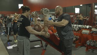 Bodybuilding at the MI40 Gym Tampa With Ben Pakulski