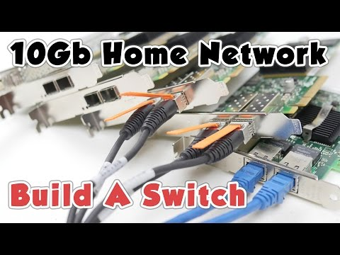 10Gb Home Network (P3) - Build A Switch