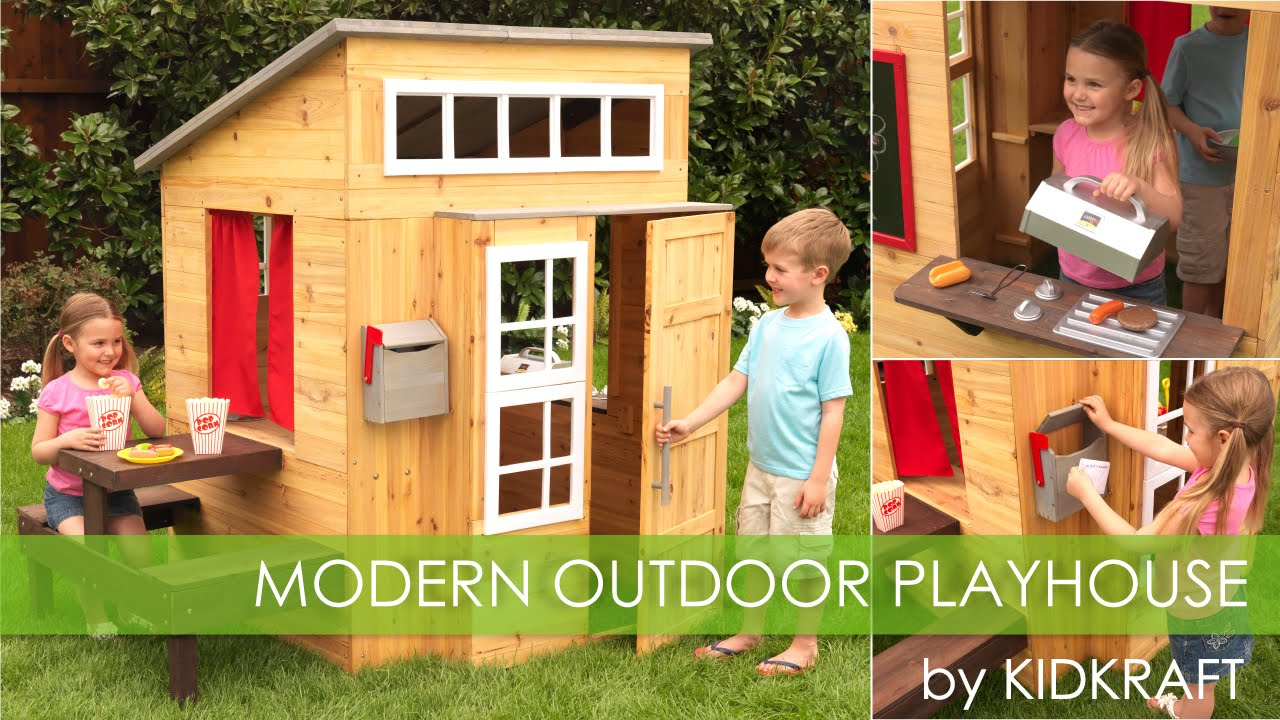 Children's Outdoor Playhouse for Boys and Girls' - Toy Review - YouTube