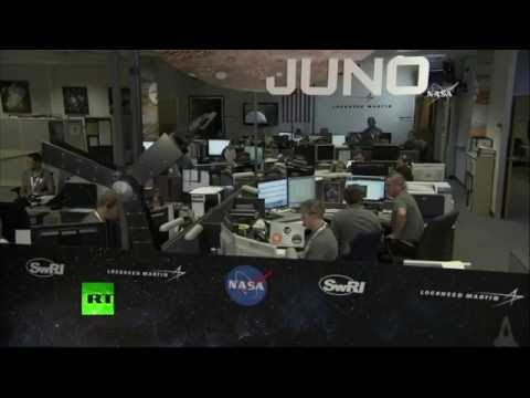 Live Coverage of the Juno Orbital Insertion at Jupiter