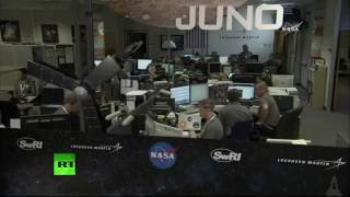 Juno Orbital Insertion at Jupiter: Recorded live coverage