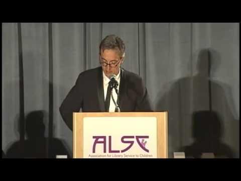 2012 Newbery-Caldecott Banquet - Chris Raschka Caldecott Speech
