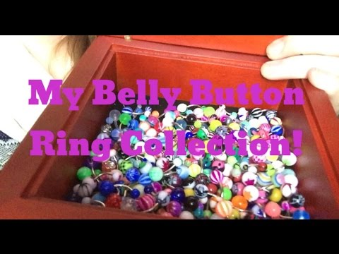 My Belly Button Ring Collection!